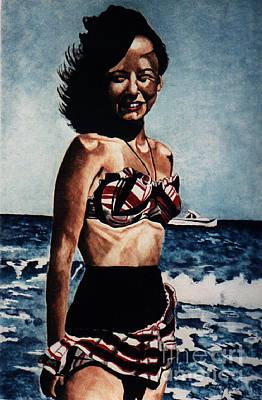 Painting - Joyce 1947 by LJ Newlin