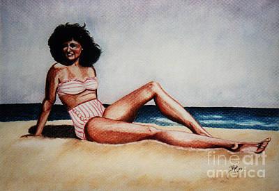 Painting - Joyce In Florida 1947 by LJ Newlin