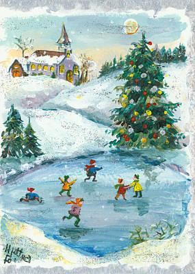 Joyful Christmas Original by Elisabeta Hermann