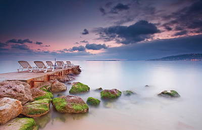Juan Les Pins, French Riviera Art Print by Eric Rousset