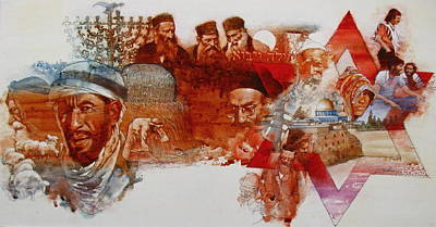 Painting - Judaism  by Cliff Spohn