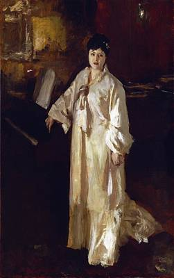 Full-length Portrait Painting - Judith Gautier by John Singer Sargent