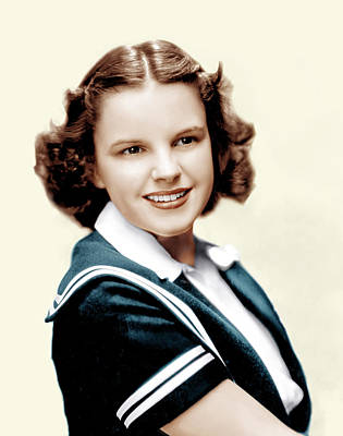 Judy Photograph - Judy Garland, Ca. Late 1930s by Everett