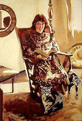 Painting - Judy by Tim  Heimdal