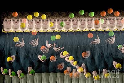 Biomechanic Photograph - Juggler by Ted Kinsman