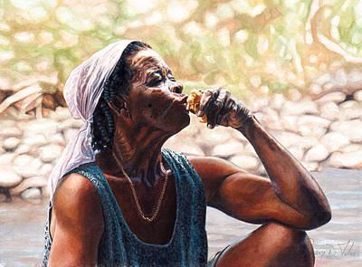 Juicy Fruit Art Print by Gregory Jules