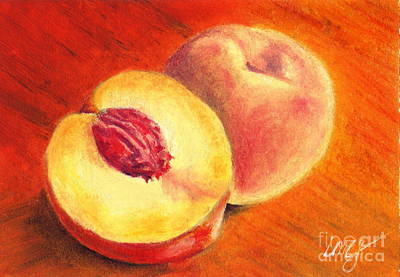 Juicy Fruit Art Print by Iris M Gross