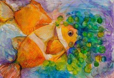 Painting - Juicy Snack IIi by Claudia Smaletz