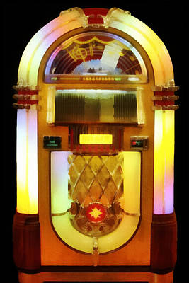 Digital Art - Juke Box by Francesa Miller