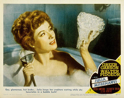 Julia Misbehaves, Greer Garson, 1948 Art Print