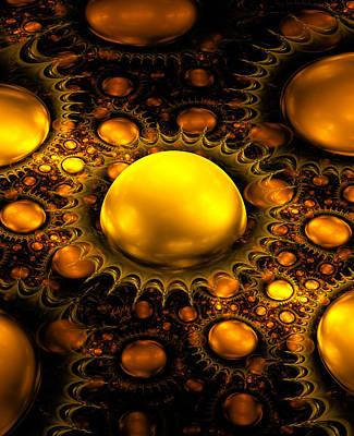 Digital Art - Julian Gold by Karla White