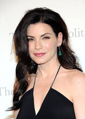 Metropolitan Opera House At Lincoln Center Photograph - Julianna Margulies At Arrivals by Everett