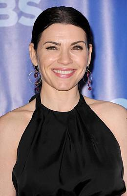 Julianna Margulies At Arrivals For Cbs Print by Everett