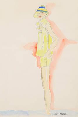 Julie Print by Suzanne Blender