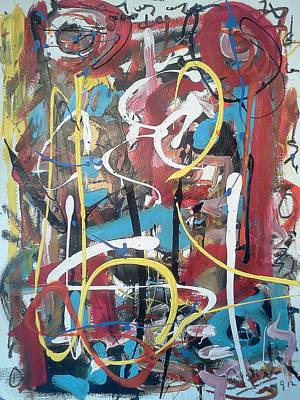 Number 24 Painting - July 9 2012-1 by Gustavo Ramirez