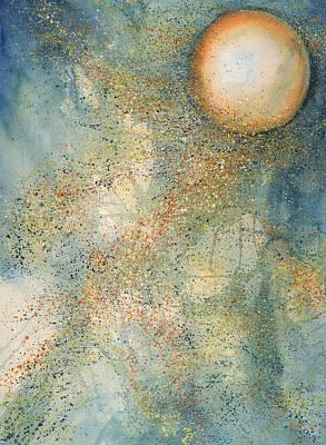 July Full Thunder Moon Art Print by Robin Samiljan