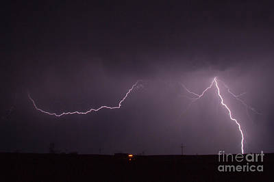 Photograph - July Lightning 20 by Shawn Naranjo
