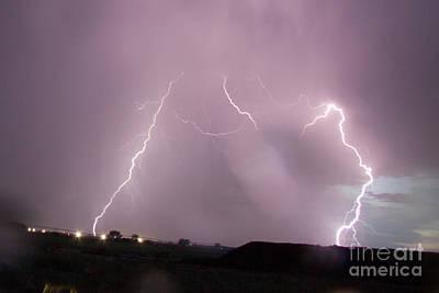 Photograph - July Lightning 22 by Shawn Naranjo