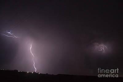 Photograph - July Lightning 25 by Shawn Naranjo