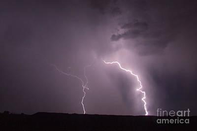 Photograph - July Lightning 27 by Shawn Naranjo