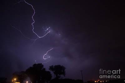 Photograph - July Lightning 30 by Shawn Naranjo