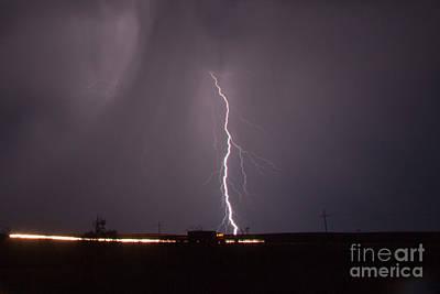 Photograph - July Lightning 4 by Shawn Naranjo