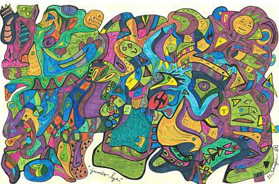 Jumbo Lye Art Print