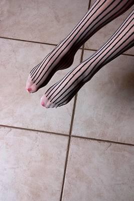 Photograph - Jump With Stripes by Joe Kozlowski