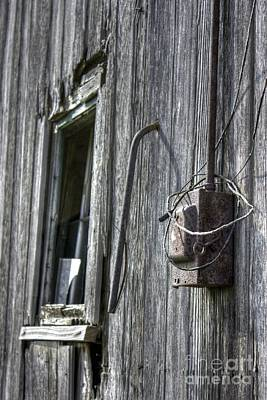Abandonded Photograph - Junction Box by David Bearden