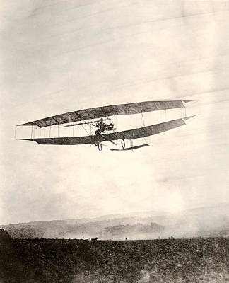 Number 3 Photograph - June Bug Aeroplane, 1908 by Miriam And Ira D. Wallach Division Of Art, Prints And Photographsnew York Public Library
