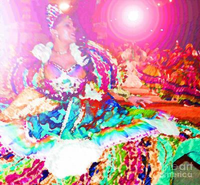 June Festival 1 Print by Rosane Sanchez