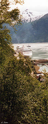 Photograph - Juneau Alaska by C Sitton