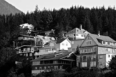 Photograph - Juneau Homes by Eric Tressler