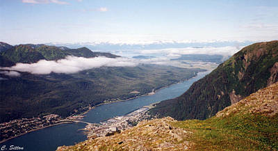 Photograph - Juneau View by C Sitton