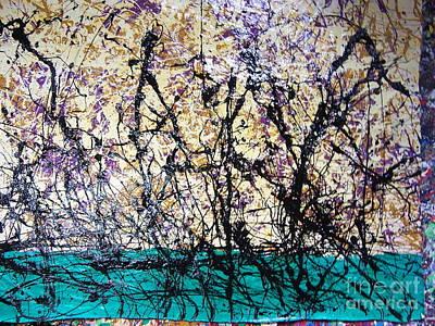 Painting - Juneteenth Dance by Meroe Rei