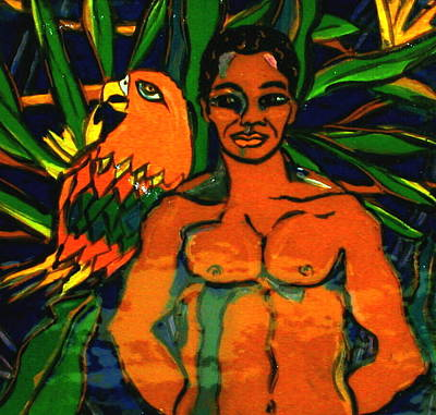 Jungle Pals Art Print by Patricia Lazar