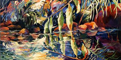 Jungle Reflections Art Print