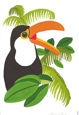 Painting - Jungle Toucan by Terry Taylor