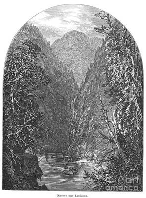 Juniata River Print by Granger