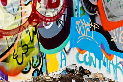Junk Graffiti Art Print by Yurix Sardinelly