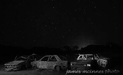 Photograph - Junk Yard by James Mcinnes