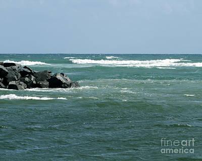 Photograph - Jupiter Beach Seaview by Sabrina L Ryan