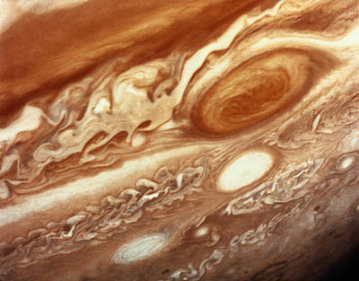 Satellite View Photograph - Jupiter by InterNetwork Media