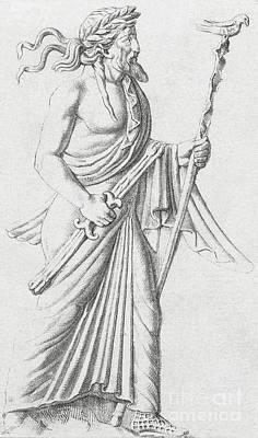 Zeus Photograph - Jupiter, Roman God by Photo Researchers
