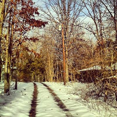 Trail Wall Art - Photograph - Just A Dusting by Micah Mulinix