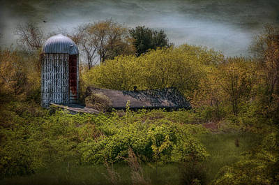 Metal Roof Photograph - Just A Memory by Robin-Lee Vieira