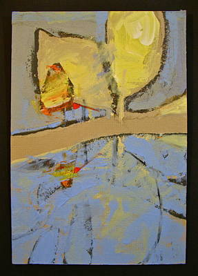 Painting - Just A Walk In The Park by Cliff Spohn