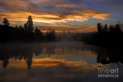 Just Another Magical Sunrise Art Print by Beve Brown-Clark Photography