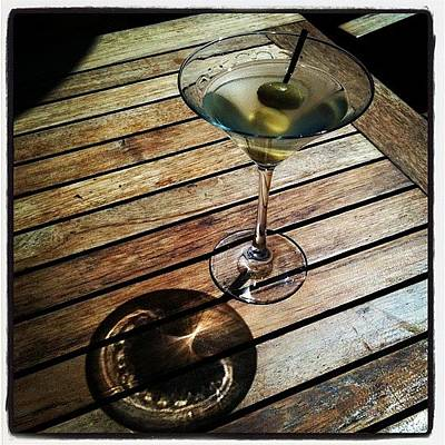 Martini Photograph - Just Another Martini Sunday by Shelley Randles