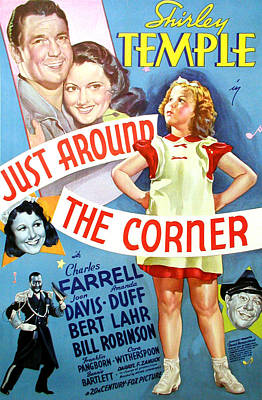 1938 Movies Photograph - Just Around The Corner, Charles by Everett